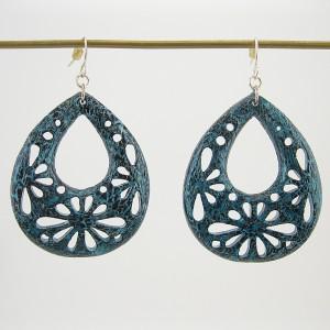 Hippie Crackle Earrings