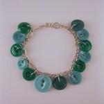 Green Button Bracelet