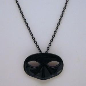 Dark Mask Necklace